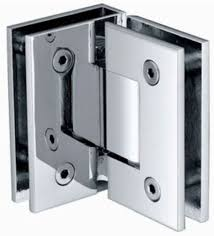 hinges for glass door shower door hinge 90 degree glass to glass chrome or brushed