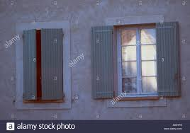 french window and shutters typical provence style southern