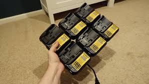 dewalt six pack custom charger dcb107 20v 12v youtube