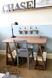 Cheap Diy Desk Diy Barstool Desk Vintage Chairs Desks And Couples