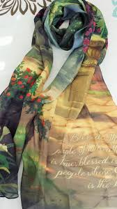 christian scarf blessed is the kinkade designer
