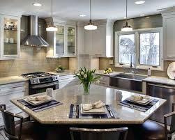 u shaped kitchen layouts with island modern small u shaped kitchen designs l with island bench