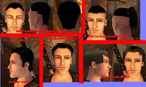 fable hair styles fable the lost chapters mod scene retextures new hairstyles