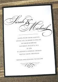 how to word wedding invitations wedding invitation wording or popular wedding