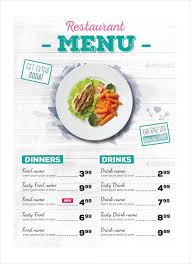 simple menu template free 30 restaurant menu templates free sle exle format