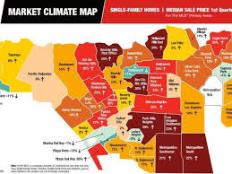 Maps Los Angeles by Mapping The Mostly Huge Housing Price Jumps Across La Curbed La