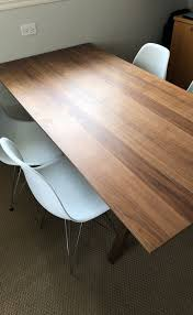 stockholm natural finish dining table ikea stockholm dining table walnut finish hard find furniture in