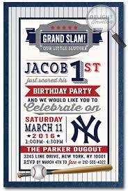 baseball birthday party invitations mvp football birthday party