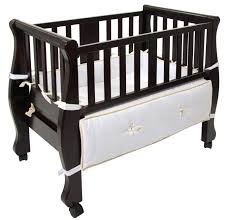 sleigh bed co sleeper luxurious and beautiful baby bassinet