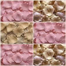 Silk Rose Petals Blush Gold Rose Petal Blend Silk Rose Petals 2696653 Weddbook