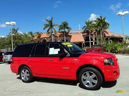 ford expedition red 2008 ford expedition funkmaster flex limited 4x4 in colorado red