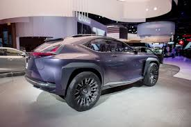 lexus crossover inside the lexus ux concept looks like it will chew you up and spit you