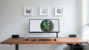 best minimalist computer desk setup in 2017