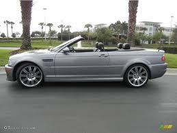 Bmw M3 Convertible - silver grey metallic 2004 bmw m3 convertible exterior photo