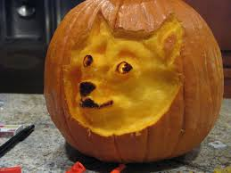 Pumpkin Carving Meme - wow such doge pumpkin in light by oobumbleflyoo on deviantart
