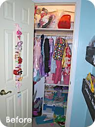 organizing a girls closet with a dress up bar simply swider
