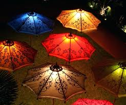 Patio Umbrella Lighting Patio Umbrella Lights Solar Powered Outdoor Clip New Lighting
