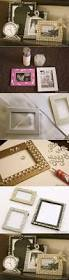 Pinterest Dollar Tree Crafts by Diy Glamorous Picture Frame With Glass Gems From The Dollar Tree