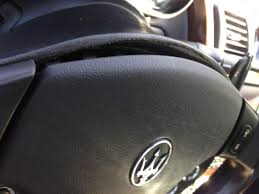 maserati steering wheel i found a fix for warped steering wheel shroud maserati forum