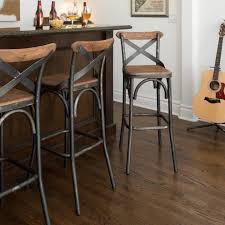 White Wood Bar Stool Counter Height Bar Stool 24u201d Counter Height Bar Stools Full
