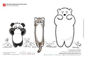 freebies u2013 panda polar bear