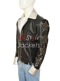 paul stanley halloween costume kiss starchild paul stanley metal studs black jacket instylejackets