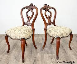 Chippendale Schlafzimmer Kaufen Chippendale 2 Stühle Nussbaum Antik Barock Massiv Alt Stuhl