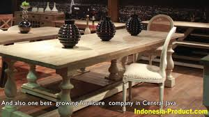 recycle teak furniture manufacturer from central java youtube