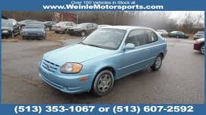 3 door hyundai accent 2005 hyundai accent gls 3 door michael j auto sales in cleves