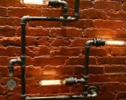 pipe au bureau industrial pipe adjustable wall light wall light wall
