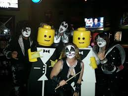 Halloween Costumes Kiss Guess Drunk Prefer Lego Men Kiss Halloween