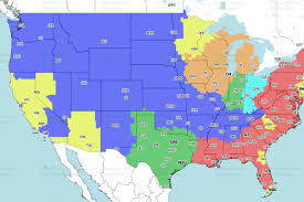 Tennessee On Map by Denver Broncos At Tennessee Titans Cbs Tv Broadcast Map Mile