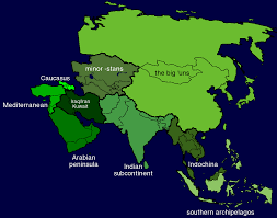 Asia Geography Map by Memorizing The Geography Of Asia The Final Wager