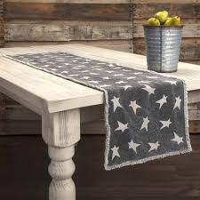 gold star table runner nancy s nook table runners vhc brands table runners country table