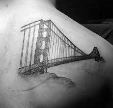 60 golden gate bridge tattoos for men san francisco ink ideas