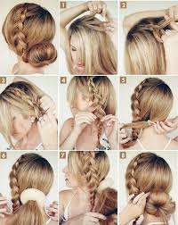 hairstyles with a hair donut pictures on bun donut hairstyles cute hairstyles for girls