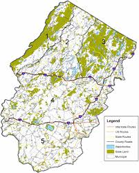 Portland Zoning Map by Njdep Division Of Fish U0026 Wildlife Black Bear Hunt Zones And Area