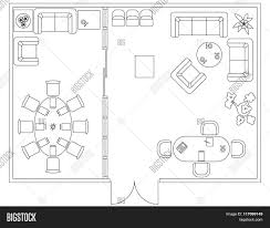 architectural set furniture vector u0026 photo bigstock