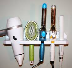 bathroom hair dryer curling iron holder hair dryer caddy hair