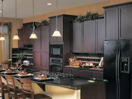 Black And Brown Kitchen Cabinets Black And White Kitchen Black And White Kitchen Ideas Pinterest