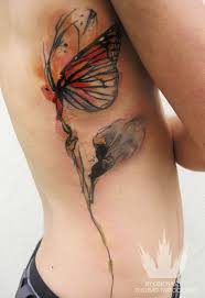 here 25 more ideas for watercolor butterfly tattoos to you from