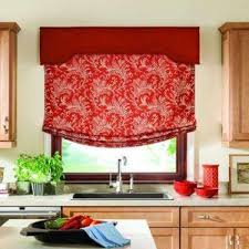 window scarves valances blinds window treatments the home red