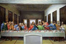 famous christ oil painting on canvas the last supper by leonardo da vinci painting handpainted wall art pictures in painting calligraphy from home