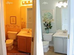 Bathroom Makeover On A Budget - 200 powder room makeover raleigh nc interior design u2014 elizabeth
