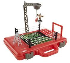amazon black friday basketball wwe rumblers money in the bank carrying case and playset mattel