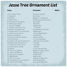 tree bible verses and ornament idea list
