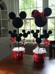 mickey mouse center pieces ideas for mickey and minnie birthday party best 25 mickey minnie