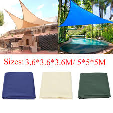 Outdoor Patio Sun Shade Sail Canopy by Ipree 3 6x3 6x3 6m 5x5x5m Sun Shade Sail Anti Uv Outdoor Patio