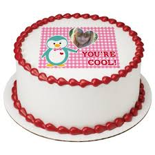 edible cake images a birthday place cake toppers you re cool penguin edible cake