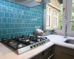 delighful blue kitchen tiles throughout decorating ideas